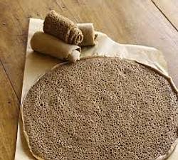 Whole grain injera