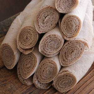 Ethiopian baked 100% gluten free teff Injera